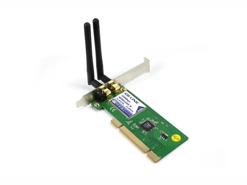 LB LINK 300MBPS WIRELESS N PCI ADAPTER